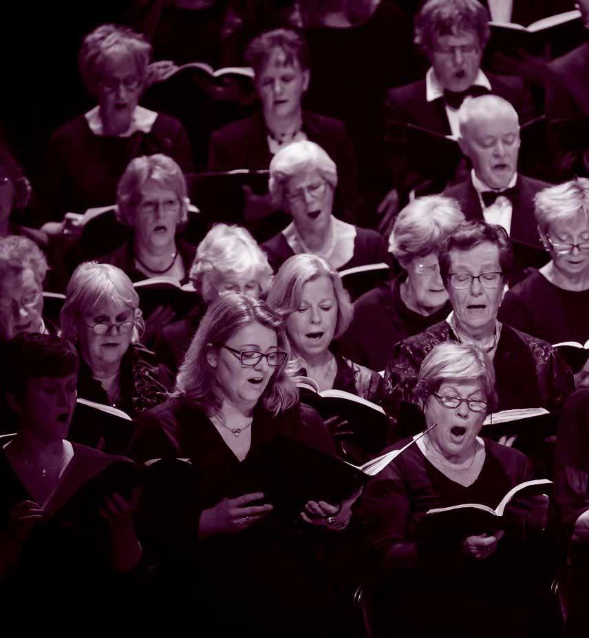Meezingen koor Enschede