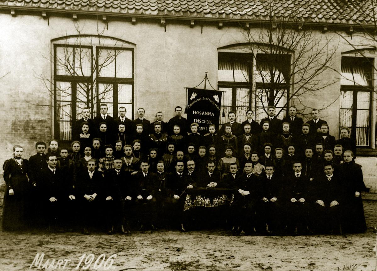 Foto van Christelijk Gemengd Koor 'Hosanna' uit 1906