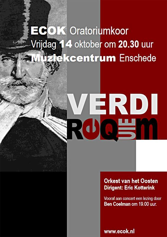 Poster concert 2011 Requiem Verdi