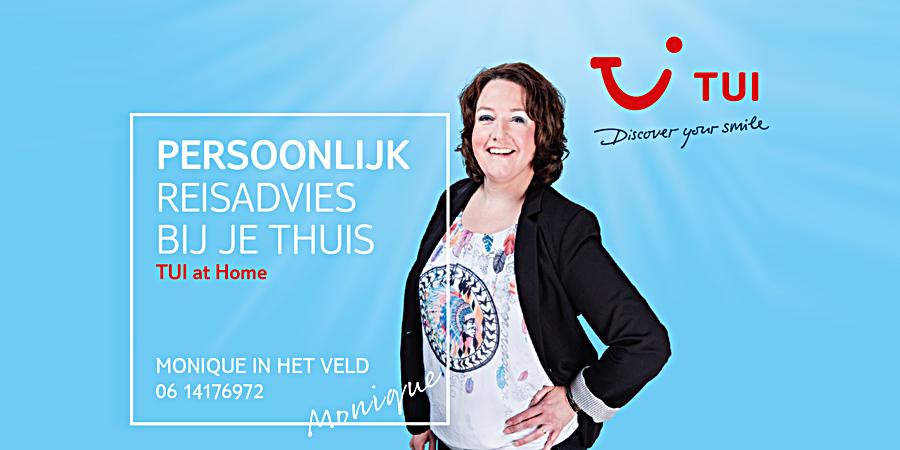 Sponsor TUI at Home Monique in het Veld Enschede